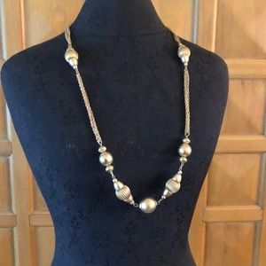 """16"""" Bauble Chain Necklace 1970s"""